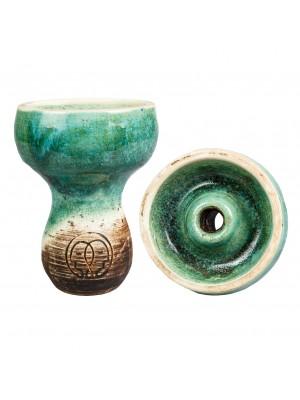 Чаша для кальяна KARMA-Зеленая Фанел