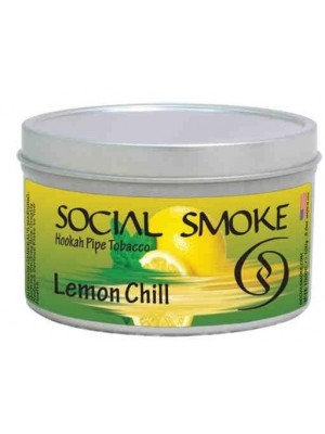 Табак - Social Smoke Lemon Chill (100g)