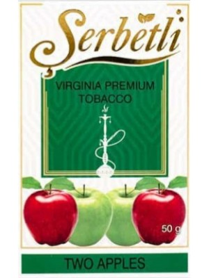 Табак Serbetli - Two Apples Mint (50g)