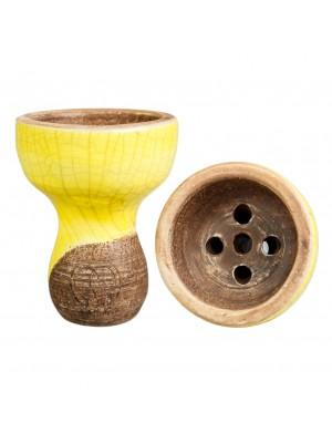 Чаша для кальяна KARMA-Желтая