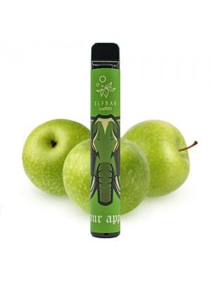 Одноразовая электронная сигарета Elf Bar-Sour Apple  800 затяжек