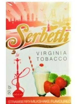Табак Serbetli Strawberry Milkshake (50g) (Клубнично-Молочный Коктейль)