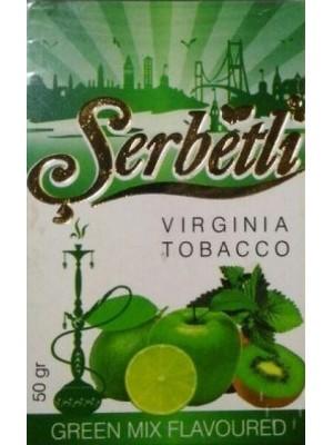 Табак Serbetli Green Mix (50 g) (Киви,яблоко.мята)
