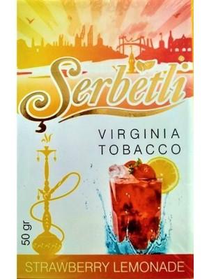 Табак Serbetli Strawberry Lemonade (50g) (Клубничный Лимонад)