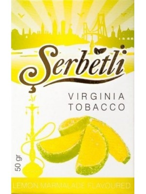 Табак Serbetli Lemon Marmalade (50g) (Лимонный Мармелад)