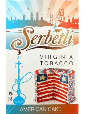 Табак Serbetli American cake (50g) (Американский Пирог )