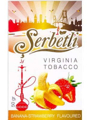 Табак Serbetli Banana strawberry (50g) (БАНАН КЛУБНИКА)