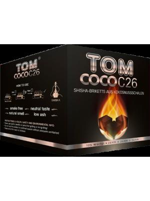 Уголь Tom COCO C26 (2kg) (125 шт.)