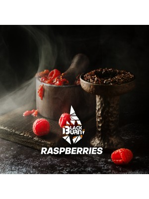 Табак Black Burn RASPBERRIES (100 g) (Малина)