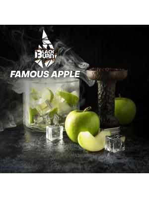 Табак Black Burn FAMOUS APPLE ( Зеленое яблоко)