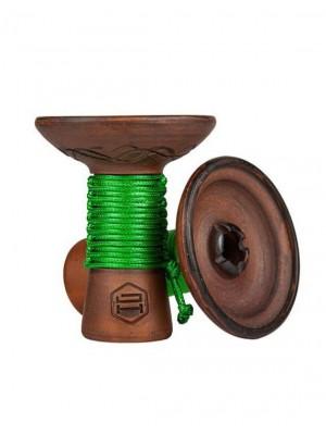617, Чаша для кальяна - Japona Hookah Mummy (Green), , 500.00 грн., Japona Hookah - Mummy (Green), , Чаши JAPONA HOOKAH