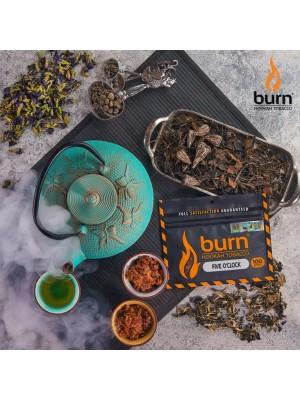 Табак Burn FIVE OCLOCK (100 g) (Зеленый чай)