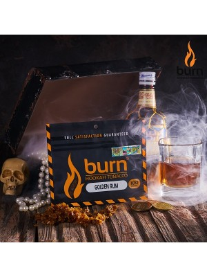 Табак Burn GOLDEN RUM (100 g) (Ром)