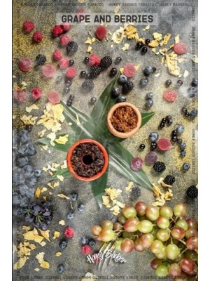 Honey Badger -  виноград ягоди WILD (100g)