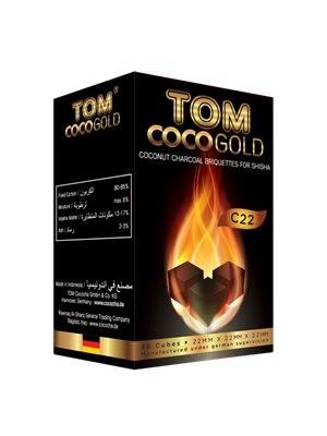 Уголь Tom COCO GOLD C22 (96 шт.)