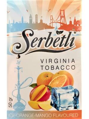 Табак Serbetli Ice Orange Mango (50g) ( Ледяной Апельсин и Манго)