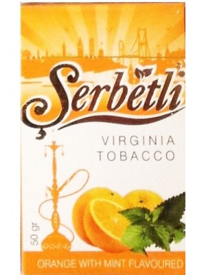 Табак Serbetli Orange Mint (50g) (Апельсин Мята)