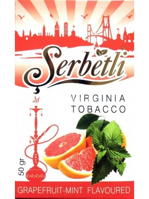 Табак Serbetli Grapefruit mint (50 g) (Грейпфрут  с мятой)