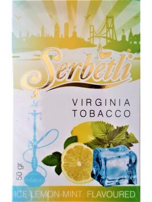 Табак Serbetli Ice Lemon Mint (50g) (Ледяной Лимон, Мята)