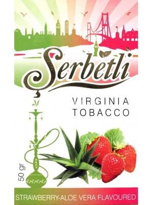Табак Serbetli Aloe vera strawberry (50g) (КЛУБНИКА С АЛОЭ)