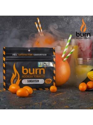 Табак Burn SUNDAYSUN (100 g) (Сочетание лимона, апельсина и грейпфрута)
