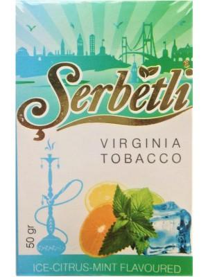 Табак Serbetli Ice Citrus mint (50 g) (Ледяной Цитрус и Мята)