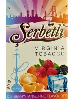 Табак Serbetli Ice Berry Tangerine (50 g) (Айс ягоды мандарин)