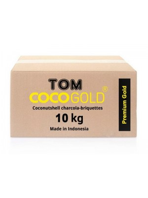 Уголь Tom COCO Gold (10kg)