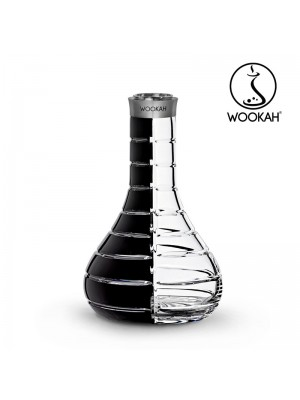Колба Wookah Striped Black/Clear