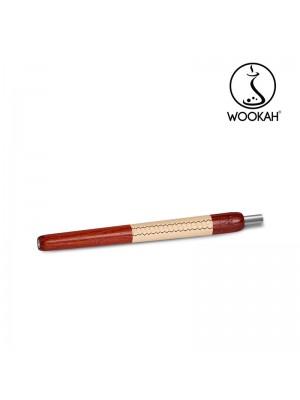 Ручка Мундштук Padouk бежевая кожа