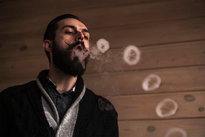 кольцо из дыма